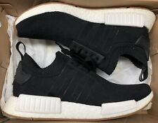 adidas NMD R1 PK Primeknit Black White Gum Ultra Boost BY1887 Sz 9.5