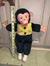Vtg COMMONWEALTH STUFFED ANIMAL PLUSH Monkey 🐒 Banana