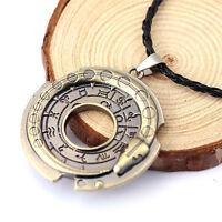 Unisex Metallschmuck Amulett Anhänger Halskette Glücklichen Schutz Heiß STAB