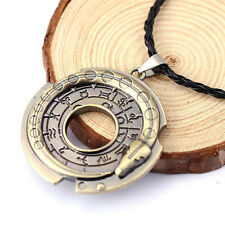 Retro Unisex Metal Jewelry Amulet Pendant Necklace Lucky Protective Talisman