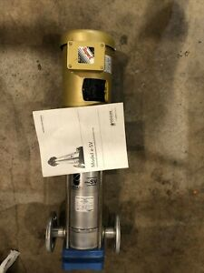Goulds Water Technology .5HP e-SV  Stainless Vertical Multi-Stage Pump Baldor
