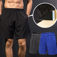 Mens Workout Shorts Running Basketball Workout Fitness with Pockets Gym Dri fit