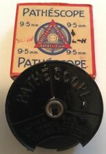 "RARE Vintage PATHESCOPE 30ft 9.5mm Pellicola, metallo Reel - 10127 ""Schiuma & Flurry"" 1923"