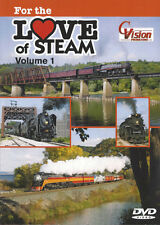 For the Love of Steam Volume 1 CP SP Nickel Plate C Vision Productions DVD