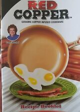Original Red Copper 10 inch Frying Pan As Seen On TV Ultra Tough Ceramic