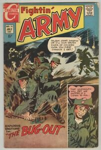 """Fightin Army #92 July 1970 VG """"Bug Out"""", 4 pages Ditko"""