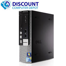 Dell Optiplex 780 Thin Desktop Small Computer PC C2D 3.0GHz 4GB 250GB Win 10 Pro