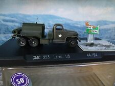 1/50 Solido (France)   MILITARY GMC truck 353 US army limited edition 50 an.