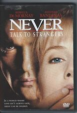 Never Talk to Strangers (DVD, 1999, Closed Caption)