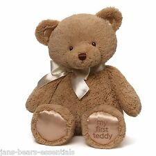 Baby Gund - My First Teddy, 2014 Version - Taupe - 18""