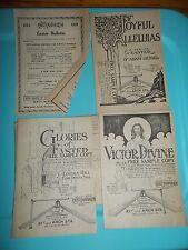 1921 HALL MACK EASTER CHRISTMAS PROGRAMS free sample copies
