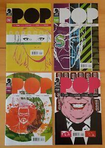 POP: #1 - #4 by C. Pires & J. Copland - Set of 4 Unread 2014 Dark Horse Comics