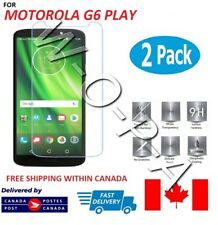 Fits Motorola / Moto G6 Play Premium Tempered Glass Screen Protector