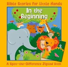 In the Beginning: A Spot-the-Difference Jigsaw Book (Bible Stories for Little Ha