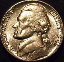 1942 Jefferson Nickel Choice/Gem BU Uncirculated