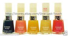 REVLON Nail Polish GLIMMER GLOSS Enamel/Color SHIMMER/SHEER New *YOU CHOOSE*