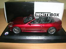 Whitebox MASERATI GRAN CABRIO SPORT ROSSO SCURO/DARK RED ROSSO 1:43 art. wbs031