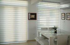 Zebra Blind Roller Blind Commercial Quality 60~180cm Wide 210cm Drop White&Beige
