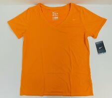 NEW WOMEN'S NIKE DRI-FIT V-NECK TEE SHIRT SIZE US LARGE  684683868