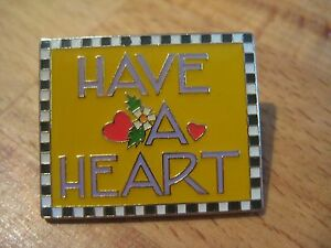Mary Engelbreit Have a Heart Lapel or Hat Pin - HTF