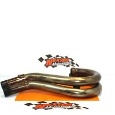 2001 Ktm 400 SX Left & Right Exhaust Header Pipe Chamber