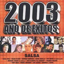 Various Artists : 2003 Ano De Exitos Salsa CD
