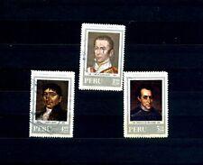 COLLEZIONE PERU' SERIE  3  FRANCOBOLLI Stamps - Timbres - Briefmark FRANCOBOLLO