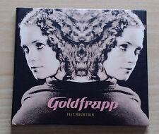 GOLDFRAPP - FELT MOUNTAIN - DIGIPAK CD