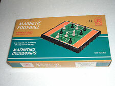 VINTAGE 80's MAGNETIC GREEK BOARD GAME FOOTBALL SOCCER PETALO TRAVEL SIZE MINT