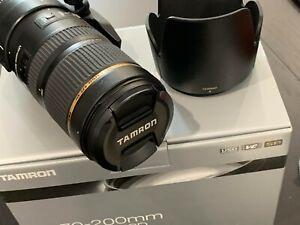 Tamron SP 70-200mm F/2.8 Di VC USD Lens (Model A009) For Canon