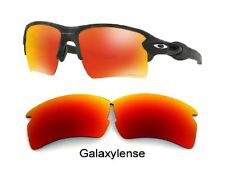 Galaxy Replacement Lenses For Oakley Flak 2.0 XL Sunglasses Prizm Red