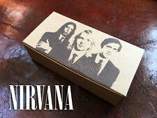 NIRVANA Box Kurt Cobain Krist Novoselic Dave Grohl Grunge Seattle