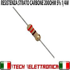 25 Pezzi Resistenza 220 ohm strato carbone 1/4W 5% Resistor 100ohm