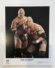 The Gymini Signed WWE Original 8x10 Promo Photo P-1095 WWF