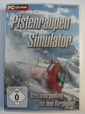 Pistenraupen simulador - 3d hizo esquiador snowboard paraíso, skiresort, simulación