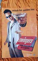 Swingers ORIGINAL 1 SHEET MOVIE POSTER Vince Vaughan
