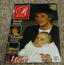 Royalty Monthly Magazine Volume 8 No 9 June 1989 Princess Diana
