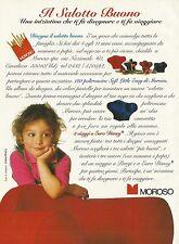 X7122 Moroso - Il salotto buono - Pubblicità 1993 - Advertising