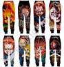 Men Casual Jogger Trousers Childs Play Chucky3D Print Fitness Sweatpants Pants
