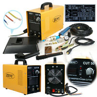 110V 220V Portable Electric Digital Plasma Cutter 50AMP CUT50 Digital Inverter