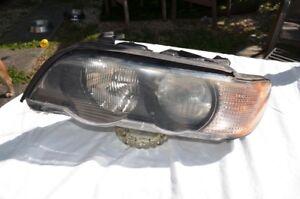 00-03 BMW X5 Headlight Drivers Side Left Headlight 151 833-00 L1 Headlamp