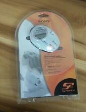 NEW Sony Armband Radio Weather/TV/FM/AM Walkman MEGA Bass Headphones Vtg