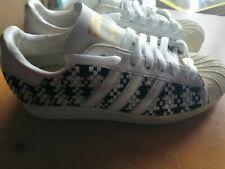 Adidas Originals Superstar Chess Design UK Size 6 Special Edition