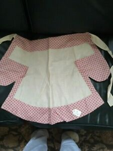 Vintage (1940-1960's) Apron with Pockets; Handmade