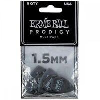 Ernie Ball 1.5mm Black Prodigy Picks Multipack