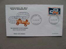 MALI, cover FDC 1969, toys electric racing-car