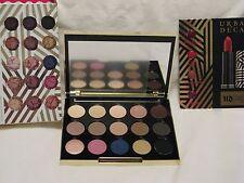 Urban Decay Gwen Stefani Eye Shadow Palette NIB 15 Shades + 4 Lipstick Samples!