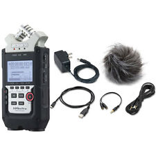 Zoom H4n Pro 4-Channel Handy Recorder w/ Zoom APH-4nPro Accessory Pack bundle