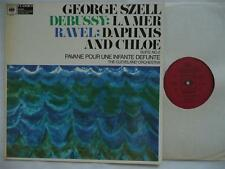 SZELL CONDUCTS DEBUSSY LA MER & RAVEL DAPHNIS ET CHLOE SUITE NO 2 CBS 61075