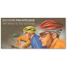 BLOC SOUVENIR N°_81 CYCLISME 100è EDITION DU TOUR DE FRANCE 2013